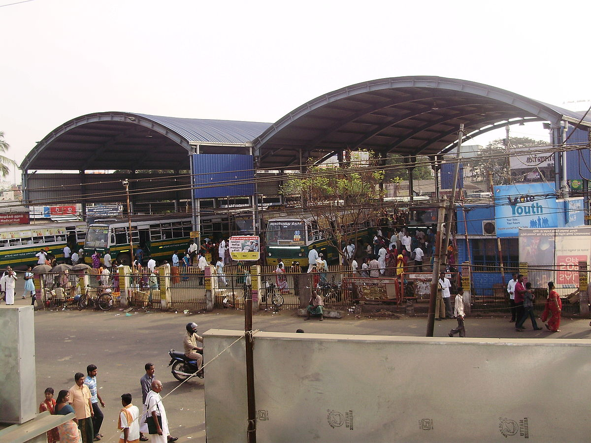 Trichy Central Bus Stand - 5.5kms
